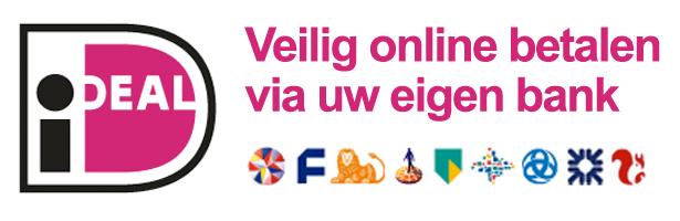Betalen met iDEAL bij slotencilinder.nl
